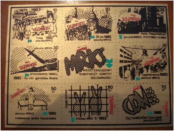 MRKS - znaczki