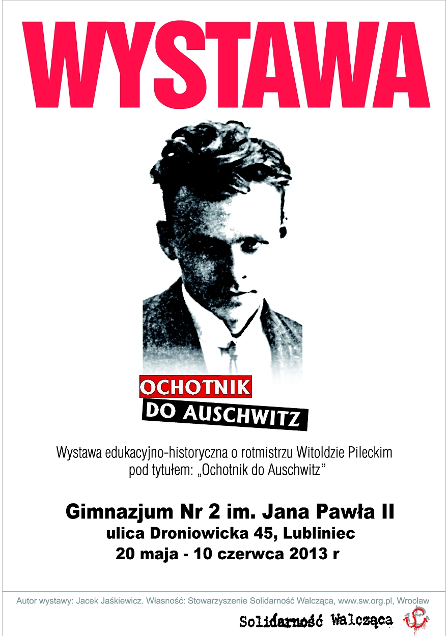 """Wystawa """"Ochotnik do Auschwitz"""""""