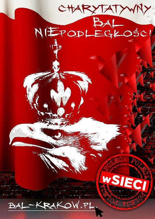 Plakat Balu Niepodległości AD 2013