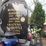 Antoni Roszak - znaczek nagrobny