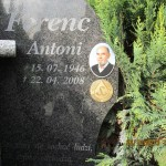 Antoni Ferenc - znaczek nagrobny