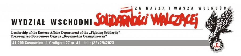 Solidarność Walcząca Wydział Wschodni