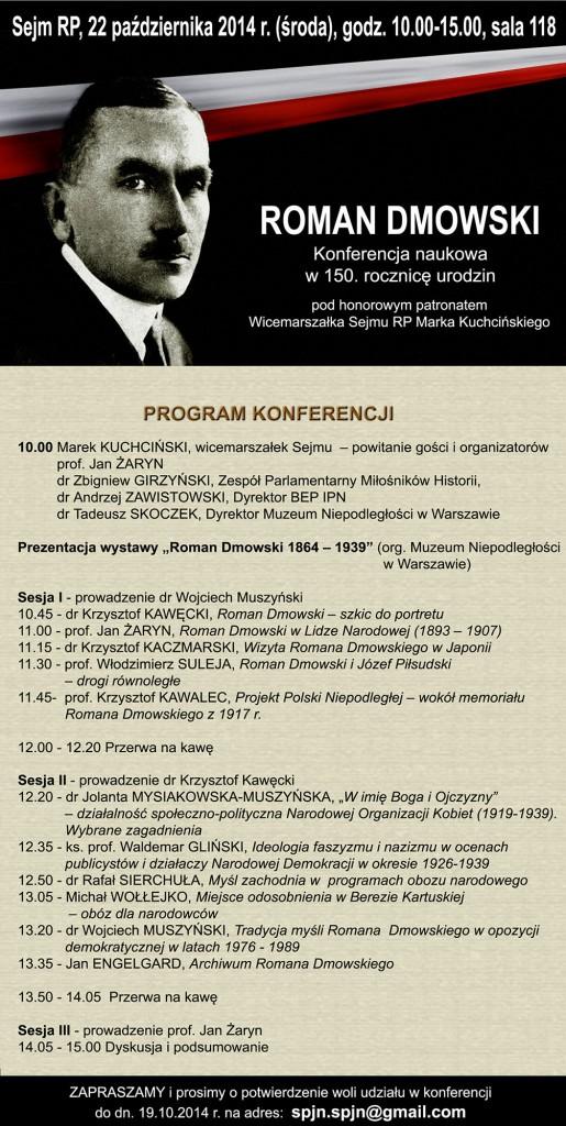 Konferencja - Roman Dmowski