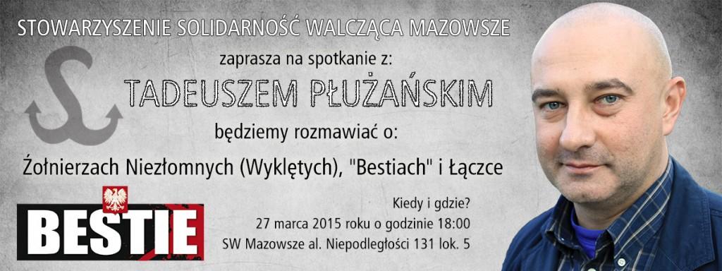 Tadeusz Płużański - spotkanie