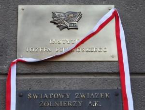 Oficjalne otwarcie siedziby Instytutu Józefa Piłsudskiego w Warszawie