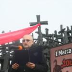 Narodowy Dzień Pamięci Żołnierzy Wyklętych. 27.02.2016 Pomnik Poległym i Pomordowanym na Wschodzie. Fot. Grzegorz Boguszewskir_038