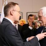 Wręczenie Krzyża Wolności i Solidarności  IPN 20.02.2016  Fot. Grzegorz Boguszewski_051