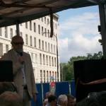 Żądamy uchwalenia  11 Lipca Dniem Pamięci Ofiar Ludobójstwa na Kresach. Fotorelacja Andrzeja Szrajnera z manifestacji pod Sejmem w dniu 7 lipca_012