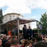 Żądamy uchwalenia  11 Lipca Dniem Pamięci Ofiar Ludobójstwa na Kresach. Fotorelacja Andrzeja Szrajnera z manifestacji pod Sejmem w dniu 7 lipca_014