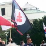 Żądamy uchwalenia  11 Lipca Dniem Pamięci Ofiar Ludobójstwa na Kresach. Fotorelacja Andrzeja Szrajnera z manifestacji pod Sejmem w dniu 7 lipca_040