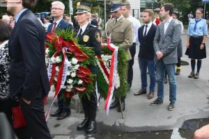 72 rocznica Powstania.Uroczystości pod Pomnikiem AK. Fotorelacja Grzegorza Boguszewskiego_035