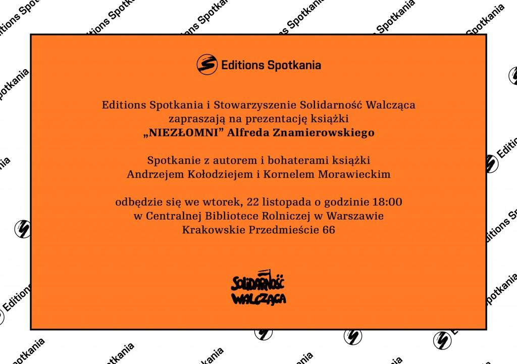 Editions Spotkania i Solidarność Walcząca