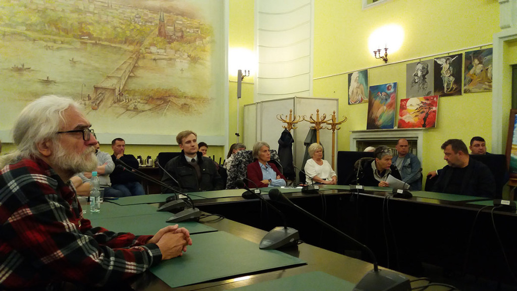 Spotkanie z Andrzejem Kołodziejem
